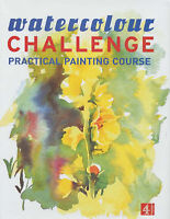 Watercolour Challenge : Practical Painting Course by Pan Macmillan (Hardback,...