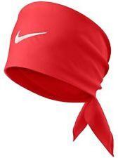 Brand NEW NIKE Light Crimson / White Tennis Bandana federer nadal 411317-697