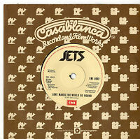 """Jets - Love Makes The World Go Round 7"""" Single 1982"""