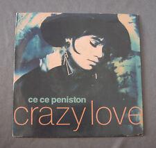 """Vinilo SG 7"""" 45 rpm CE CE PENISTON - CRAZY LOVE"""
