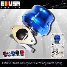 Emusa 38mm wastegate BLUE Turbo adj. For Honda CRX S13 S14 240Sx GTR Subaru
