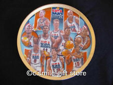 Sports Impressions *FIRST TEN CHOSEN* 5502-03 Basketball Plate '92 LE Ret MIB