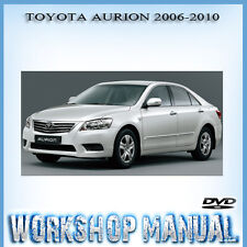 TOYOTA AURION 2006-2010 WORKSHOP REPAIR SERVICE MANUAL IN DISC