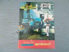 vtg 1983 Hal Leonard STRAY CATS EASY GUITAR SONGBOOK BUILT FOR SPEED Zomba Inc.