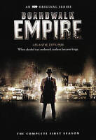 Boardwalk Empire: The Complete First Season (DVD, 2015, 4-Disc Set) #0815DAB