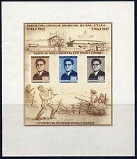 ALBANIA 1947 Kemal Stafa block MNH/**