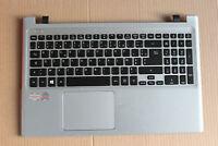 French for Acer Aspire V5-551 V5-551G Backlit FR Keyboard clavier Palmrest cover