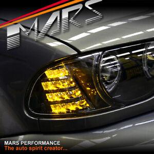 Black LED Corner Indicator for BMW E46 99-02 Coupe 320Ci 323Ci 325Ci 328Ci 330Ci