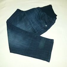 Oh Baby by Motherhood Stretch Maternity Jeans Size M Straight Leg