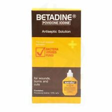 30 ml BOX BETADINE IODINE FIRST AID ANTISEPTIC SOLUTION CUTS BURNS WOUNDS