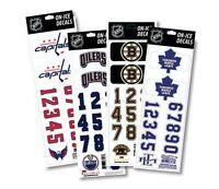 Helmsticker Set NHL Sportstar Eishockey