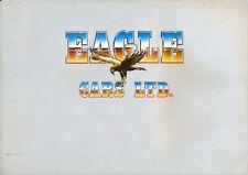 Eagle SS serie 2 1982 UK mercato Full Colour BROCHURE DI VENDITA