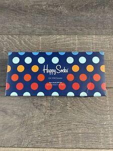 HAPPY SOCKS 4 Pairs Of Socks In Gift Box Size 7.5-11.5