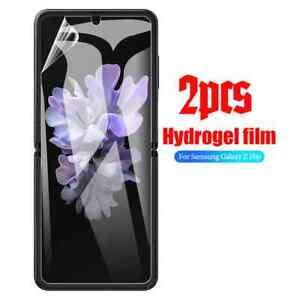 Screen Protector Cover For Samsung Galaxy Z Flip 3 TPU HYDROGEL FILM - Clear