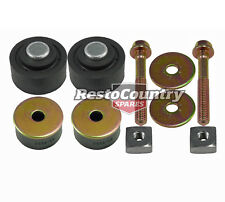 Holden HQ HJ HX HZ WB Radiator Support Mount Bolts Nuts rubber bush