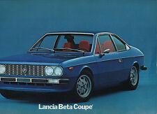 1974 Lancia Beta Coupé brochure