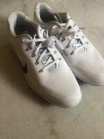 Nike React Vapor 2 Golf Cleats Shoes Men 10 BV1135-106 White