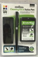 ColorWay Smartphone Cleaning Kit & Stylus Pen Perfect For Any Touchscreen Device