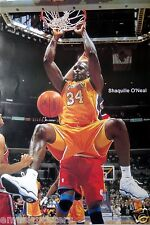 "SHAQUILLE O'NEAL ""HANGING ON BASKET"" POSTER FROM ASIA - Los Angeles Lakers"