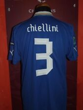 CHIELLINI EURO 2012 ITALY ITALIA MAGLIA SHIRT CALCIO SOCCER FOOTBALL JERSEY