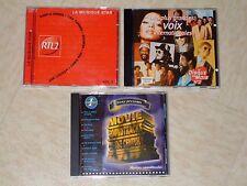 """Lot De 3 CD """"Compilation"""" - Années 80 - 90 (Slows)"""