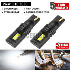 2X T10 168 194 W5W SMD 4LED Car HID White CANBUS Error Free Wedge Light Bulb NEW