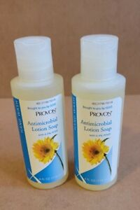 2 BOTTLES of PROVON by Gojo Antimicrobial Soap Lotion 4 oz. Citrus Scent