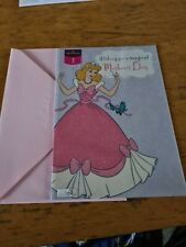 Mothers Day Card BNIP - Disney Princess- hallmark