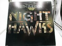 Keith Emerson Night Hawks Original 1981 Soundtrack LP BSR-5196 PROMO VG+ c VG+