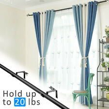 2/3pcs Single Hang Curtain Rod Holders Into Window Frame Home TxThS wgfb