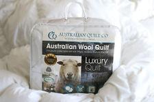 Quilt Wool Queen Australian Washable 500gsm Duvet/Doona 5 Blanket SB/DB/QB/KB/SK