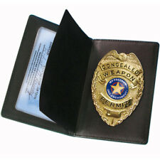Ps Products Cwpb Concealed Carry Badge And Wallet Black
