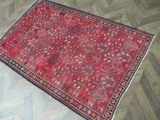 More details for a delightful old handmade traditional oriental rug(190 x 126 cm)