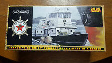 2000 Texaco Fire Chief Tugboat Bank~1St In Series ~New In Box, Sealed