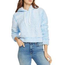 Sudadera con capucha para mujer cultivo cómodo acogedor Aqua Loungewear BHFO 5910