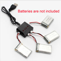 4-in-1 Battery Charger for Syma X5C, X5C-1, X5SW RC Quadcopter Drone