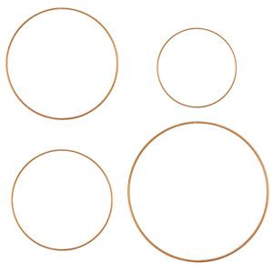 Gold Metal Dream Catcher Hoop Ring, Wreath Ring for Macramé Wall Hanging,Wedding