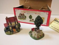 Vtg Liberty Falls 1999 Civil War Veteran's Home, Memorial & Mining Share in Box