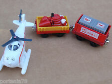 Thomas and Friends Take N Play Harold & The Search Cars loose