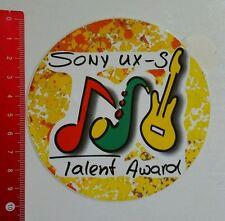 Pegatina/sticker: Sony UX s talento Award (2507167)