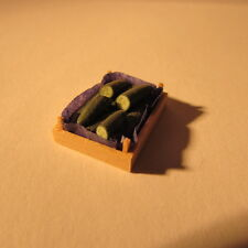 Dollhouse miniature ~ 1/24 scale ~ crate of veg