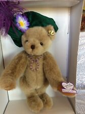 """Annette Funicello Collectible Bear """"Andrea� #62 Of 3000 Never Removed From Box."""
