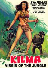 Paul Naschy KILMA:VIRGIN OF THE JUNGLE (1976) Eva Miller DVD in English NTSC NEW