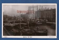 More details for the quay bristol steamer sailing ship rp pc unused rapid  z241