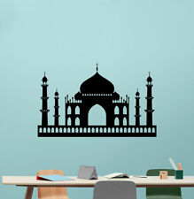 Taj Mahal Wall Decal Castle Palace Vinyl Sticker Art Bedroom Turkish Decor 82hor