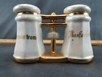 Collectible Salt And Pepper Shakers Vintage Set Opalescent 2.75""