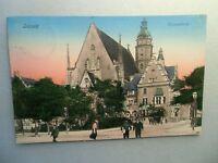 Ansichtskarte Leipzig Thomaskirche 1908