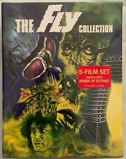 NEW THE FLY 5 FILM COLLECTION BLU RAY 5 DISC SET SCREAM FACTORY + SLIPBOX BUY IT