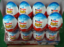 Box of 8 BOYS Chocolate Kinder Joy Surprise Eggs New Series  Transformer