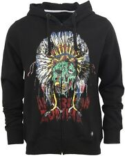 NWT Iron Fist Black American Zombie Zip Hoodie Sweater  Size: M Medium
